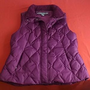 Kenneth Cole Reaction padded vest purple Size L